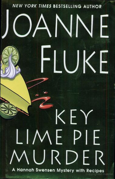 WANT TO READ: Key Lime Murder Pie by Joanne Fluke. Recommended by Lauren Conrad.