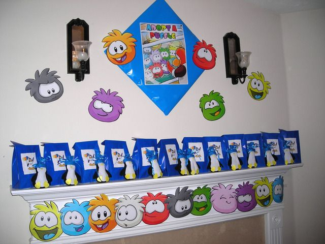 """Photo 1 of 13: Club Penguin / Birthday """"Club Penguin - 8th Bday"""" 
