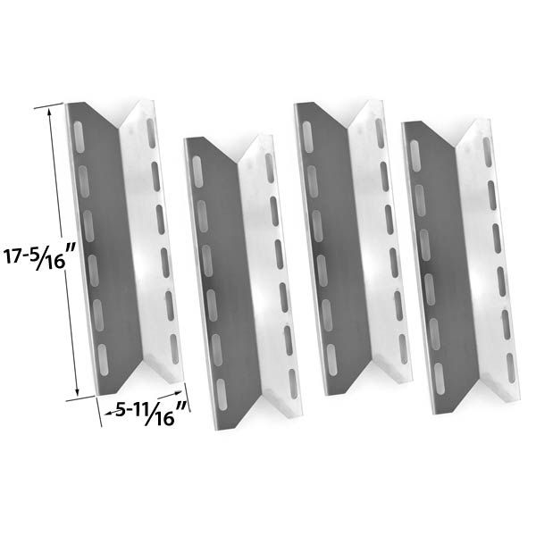 4 PACK REPLACEMENT STAINLESS STEEL HEAT PLATE FOR STRADA, MEMBER'S MARK720-0584, 720-0584A, 720-0586A, NEXGRILL 720-0018, 720-0033, 720-0103, 750-0594 MODEL GRILLS  Fits Strada Models:   STRD5RS  BUY NOW @ http://grillpartsgallery.com/shopexd.asp?id=34546&sid=16028