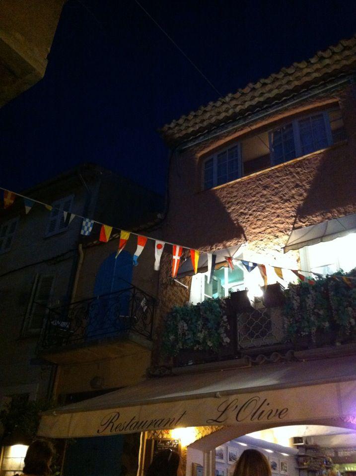 Restaurant L'olive -Saint tropez
