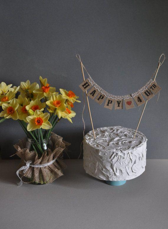 Happy 40 TH Birthday   Anniversary  Cake by inspiredcompany4u