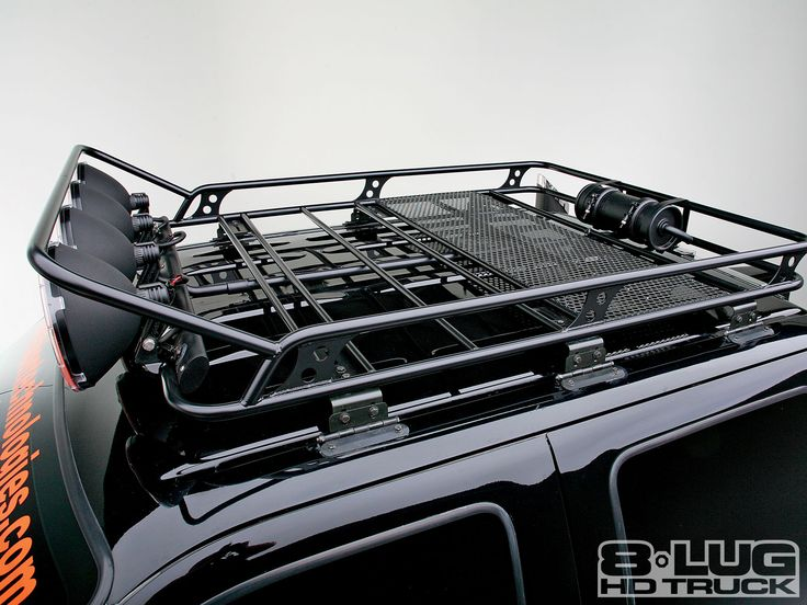 SMP-fabworks F250 Roof Rack. Build into the bed-rack mayhaps?