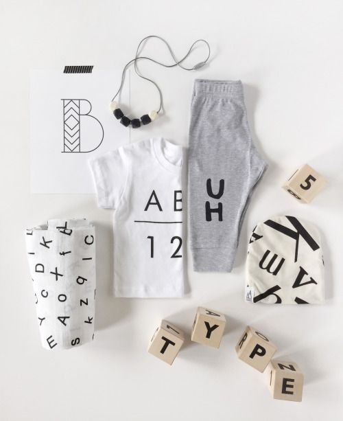 TYPE BABY GIVEAWAY / little frills blog