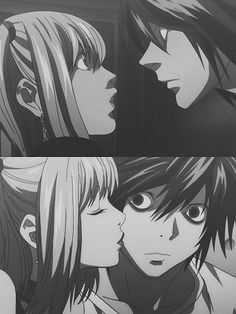 I want an alternate-reality version of this show where L, Light, and Misa are actually friends and nobody dies. *sob*