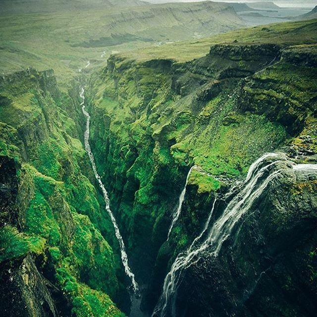 Glymur, Izland, fotó @timkemple #wowplanet