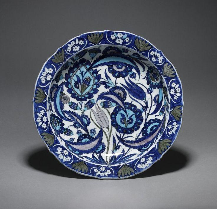 Iznik 1540-1550 - British Museum