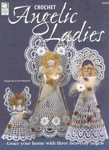 My handmade Angels crochet  HWB Angelic Ladies 0 fc