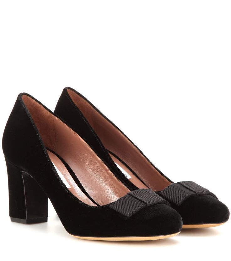 mytheresa.com - Flora Velvet Pumps ∇ Tabitha Simmons - mytheresa.com - Luxury Fashion for Women / Designer clothing, shoes, bags