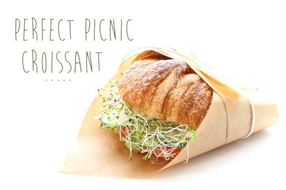 Perfect Picnic Recipes: Croissant Sandwich