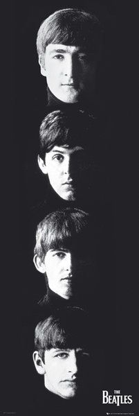 Beatles Door poster - With the Beatles -  HUGE Music Door Poster!