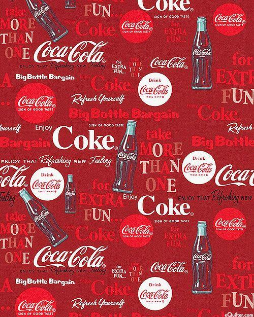 Coca-Cola - Classic Refreshment - Dk Red