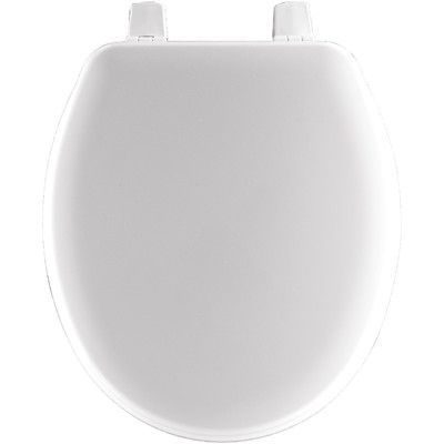Bemis Wood Closed Front Round Toddler Toilet Seat