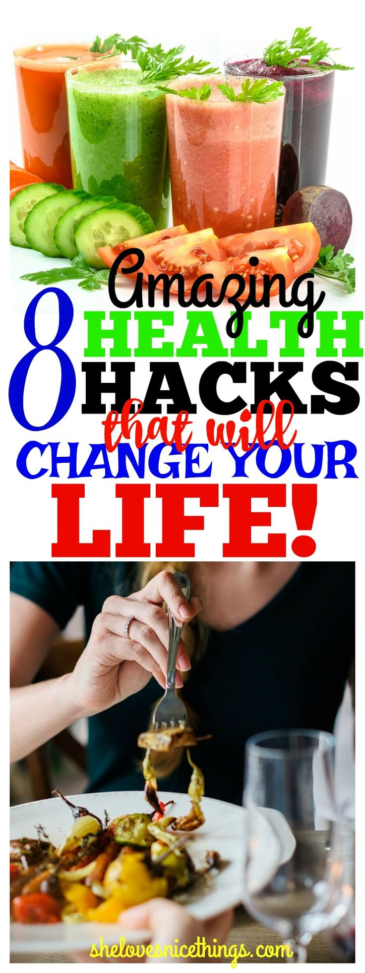 8 #health hacks that Will Change Your #Life - #lifestyle #healthyliving