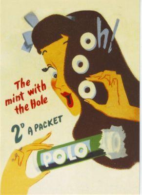 1950 s Polo Mints Advert