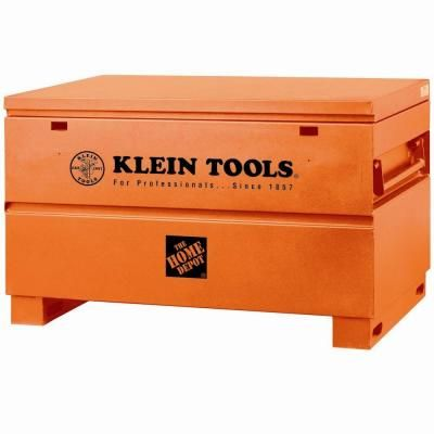 33f3a401fe2 Klein Tools 48 in. Steel Tool Job Site Box in 2019