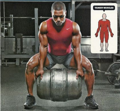 The Keg Workout - Men's Fitness