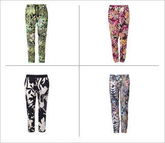 Wzorzyste spodnie // Trend