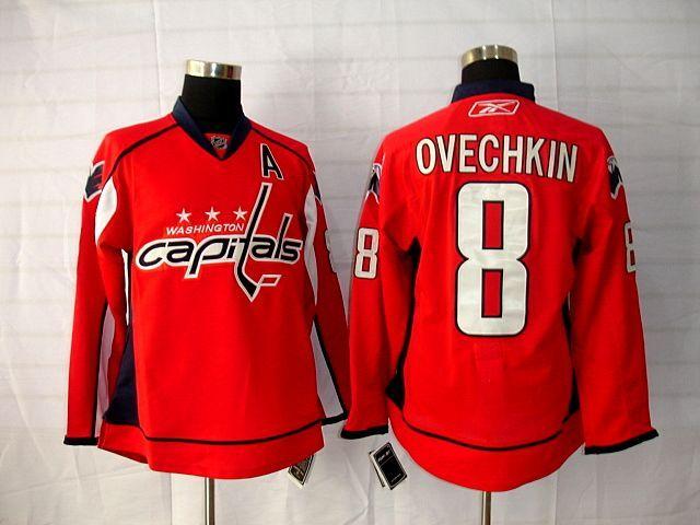 ... NHL Washington Capitals Third Washington Capitals 8 Alex OVECHKIN Home  Jersey Washington Capitals 74 John Carlson 2015 Winter Classic ... ef7d55905