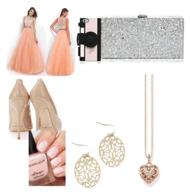"""""""Prom"""" by akayoc on Polyvore featuring beauty, Milly, Kate Spade and Thomas Sabo"""