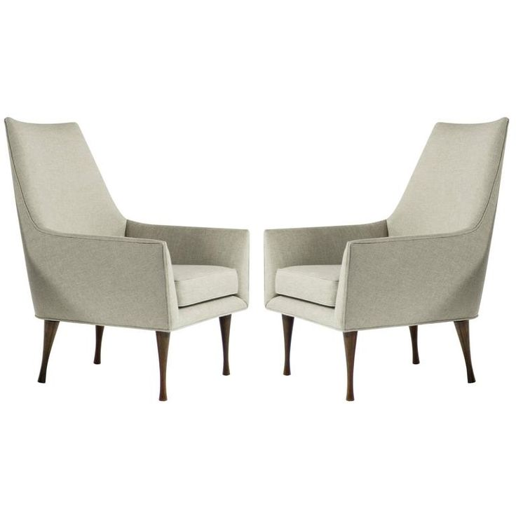 Symmetric Group Lounge Chairs by Paul McCobb for Widdicomb 1