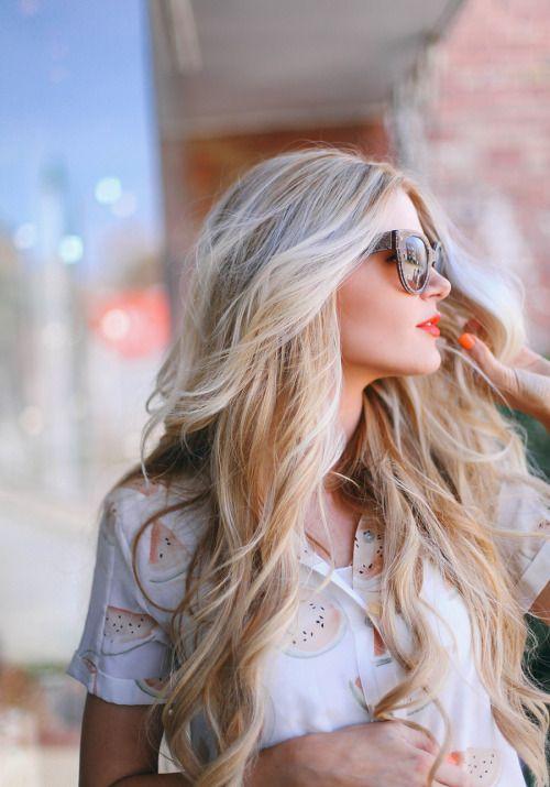 collegegirlwithpearls:  Hair goals