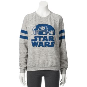 Mighty Fine Star Wars R2D2 Sweatshirt - Juniors