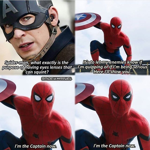 "Admit it, you said ""I'm the Captain now"" in two different voices"