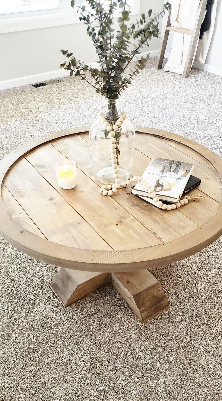Diy Round Coffee Table Coffee Table Farmhouse Painted Coffee Tables Farmhouse Style Coffee Table [ 1327 x 736 Pixel ]