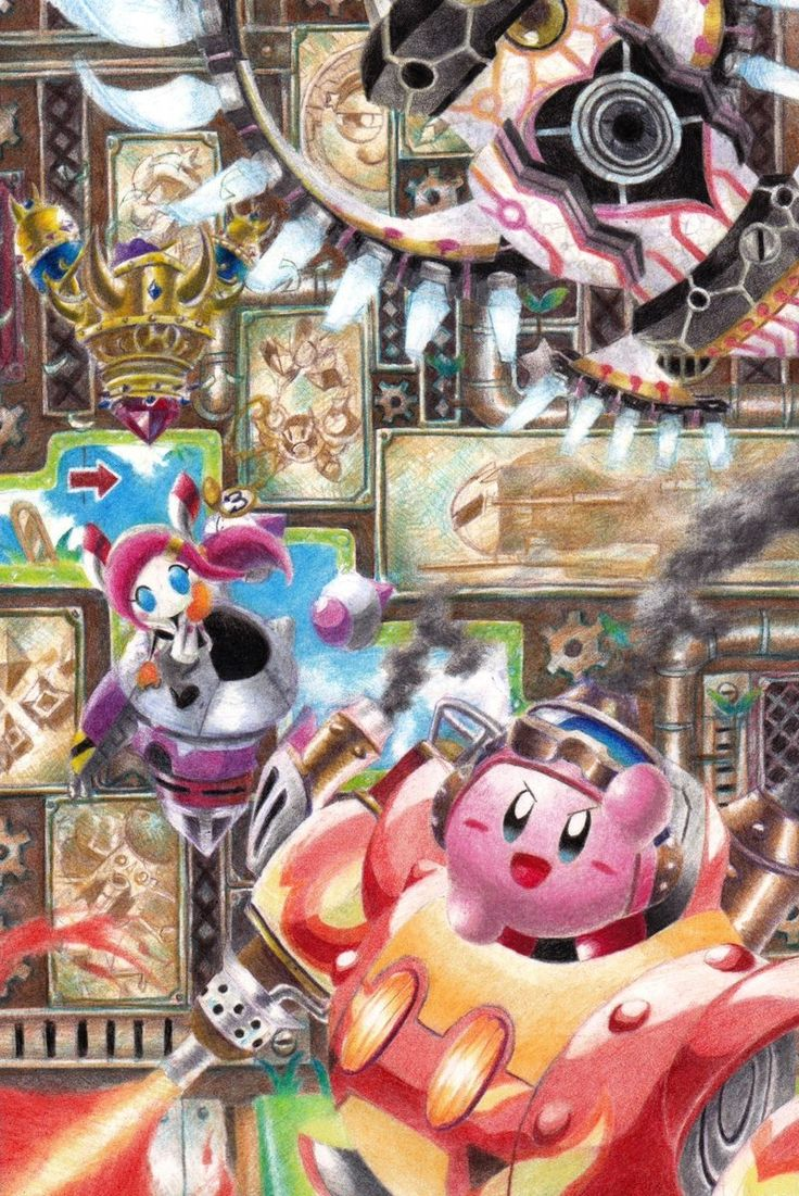 Pin by Merfire on Kirby Kirby, Anime, Pink men
