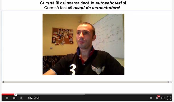<p>Te salut sunt Bogdan Ilie In acest video articol vorbim despre autosabotare si mai specificCum sa iti dai seama daca te autosabotezi si cum sa faci sa scapi de autosabotare. Singurele limite pe care le avem in viata noastra sunt doar cele pe care ni le impunem noi singuri. In …</p>
