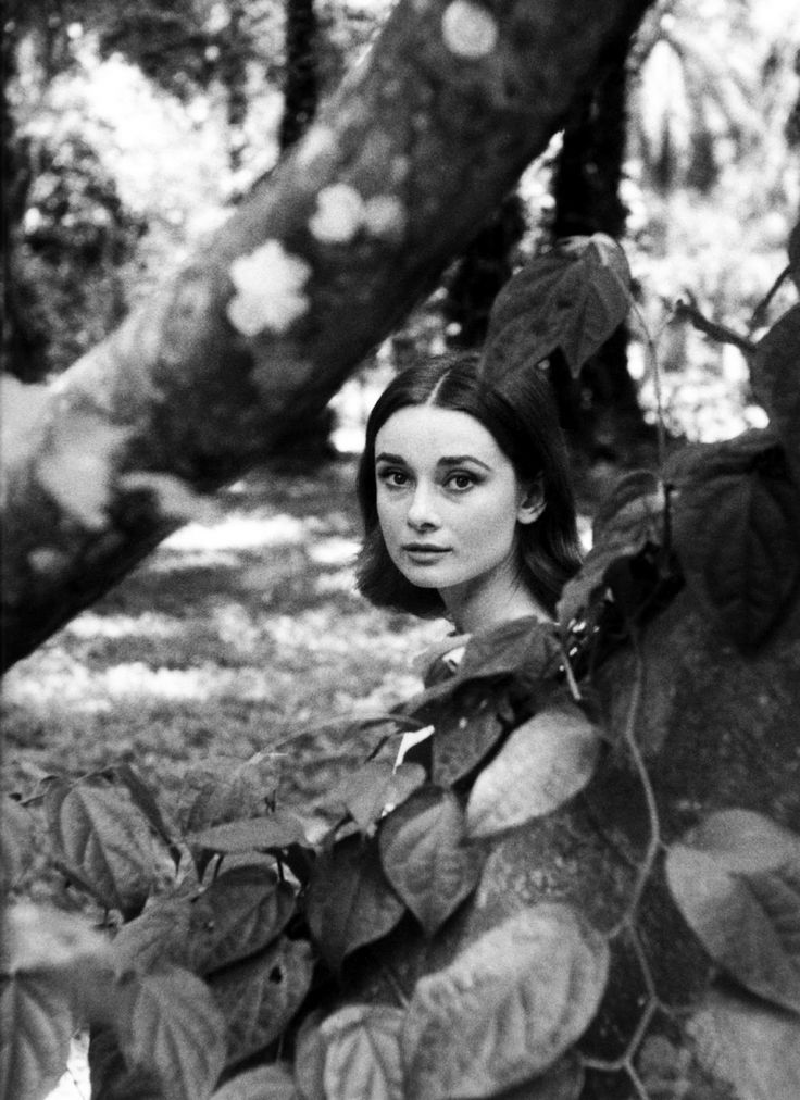 Audrey Hepburn by Leo Fuchs on the set of The Nun's Story, 1958