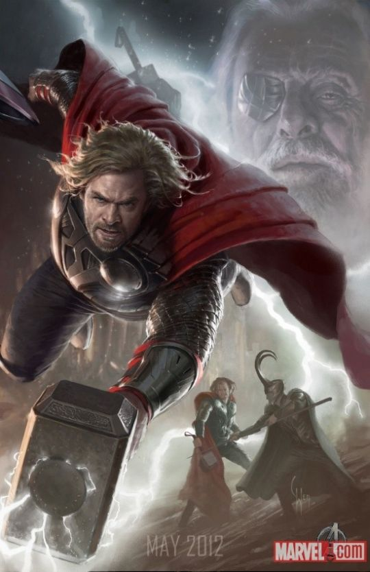 Avengers Concept Art, so awesome.
