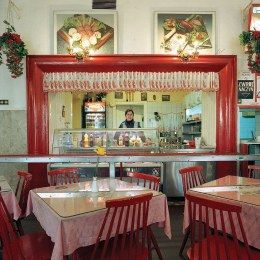 Milk bars are egalitarian diners where you can eat a portion of pierogi in thirty minutes or less, and they are popular with every social category. Milk bars are often considered a communist legacy, but in fact their existence predates the communist era.
