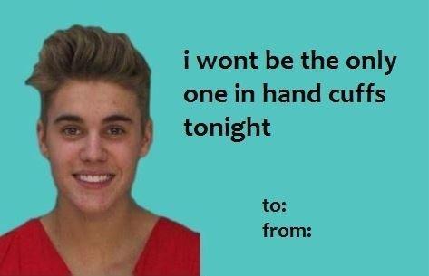 justin bieber valentine's day date