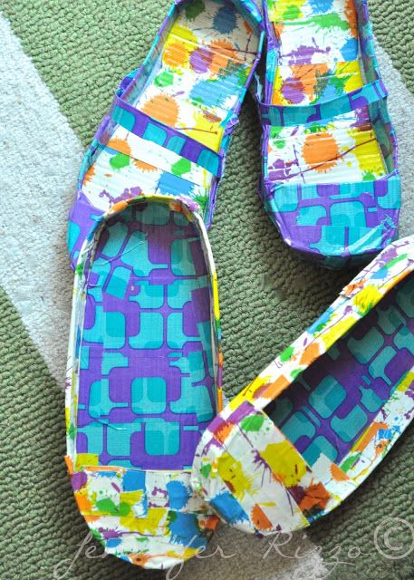 Amazing duct tape shoes and fabulous countertops..... - Jennifer Rizzo