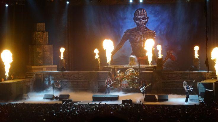 Iron Maiden Live @ Well's Fargo Center in Philadelphia 6/4/2017