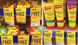 Walgreens: Carmex BOGOs on Lotions/Creams matching our new coupons!