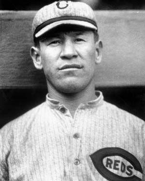 Native American Olympic Champion/Baseball Player Jim Thorpe - Cincinnati Reds 1917