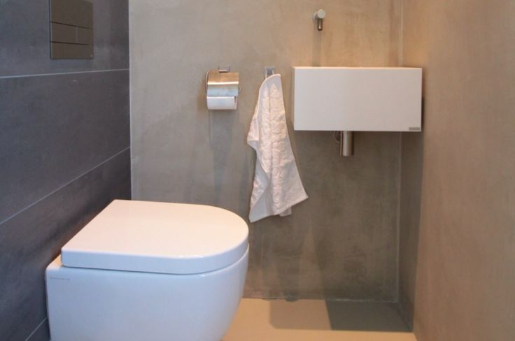 13 best images about toilet on pinterest toilets grey tiles and white walls - Tegels wc design ...