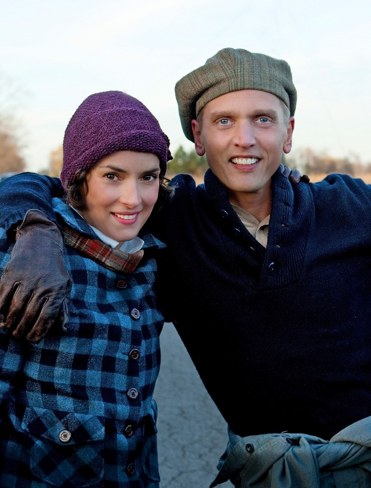 Barry Pepper & Winona Ryder , behind the scenes of The Lois Wilson Story