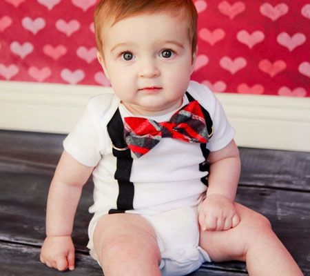 tutorial for baby dress with heart | ... DIY and Handmade Valentine's Day Bodysuits For Baby | Disney Baby