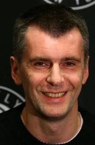 #69: Mikhail Prokhorov. Net worth: $13 B. Industry: Investments.