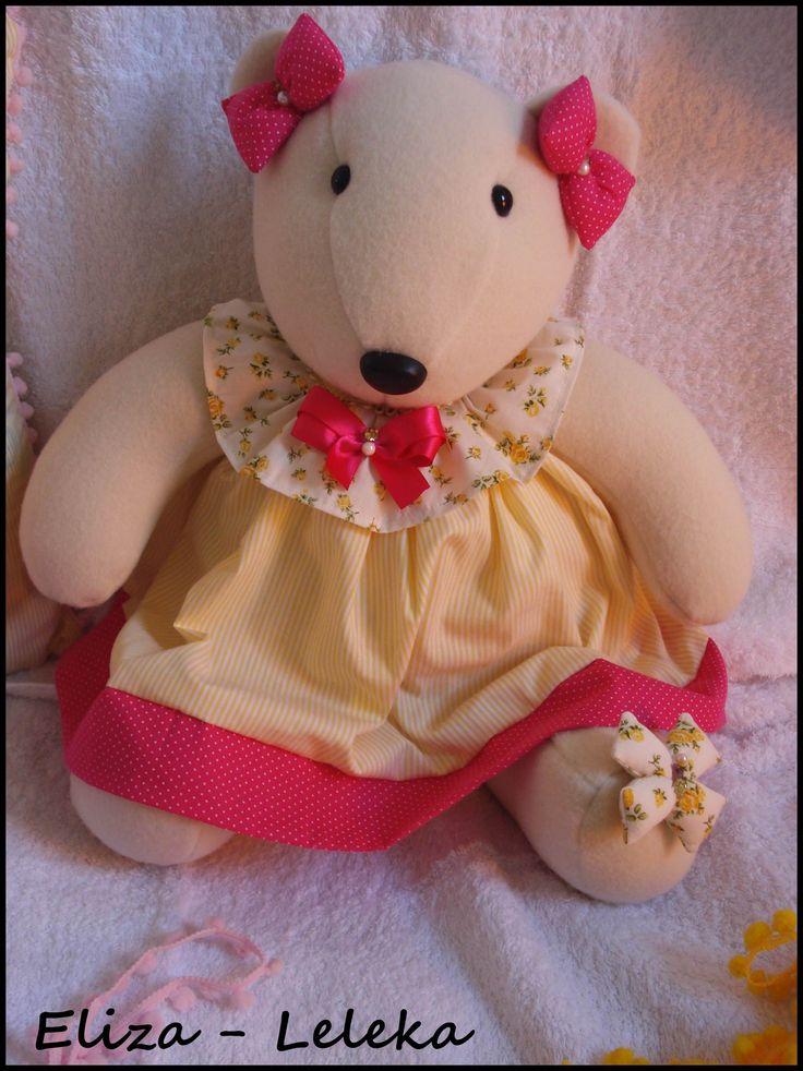 ursinha lulu  - à pronta entrega http://www.elo7.com.br/ursa/dp/3F06AE