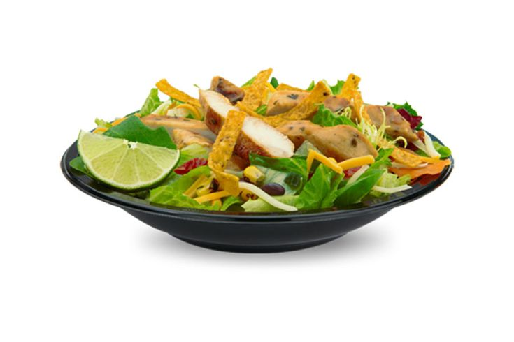 """10 Nutritionists Reveal What They'd Order At McDonald's:Premium Southwest Salad with grilled Chicken. I would order that because I would get some veggies, 7 grams of fiber for fullness and would not go overboard on refined carbs (from the buns). I also like that it has 29 grams of protein as I generally strive to get 25-30 grams protein in all of my three main meals every day.   It also has 320 calories, which means I can have a piece of fruit or something else as part of this lunch too."""""""