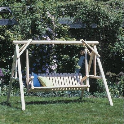 24 best outdoor furniture images on pinterest for Log swing plans