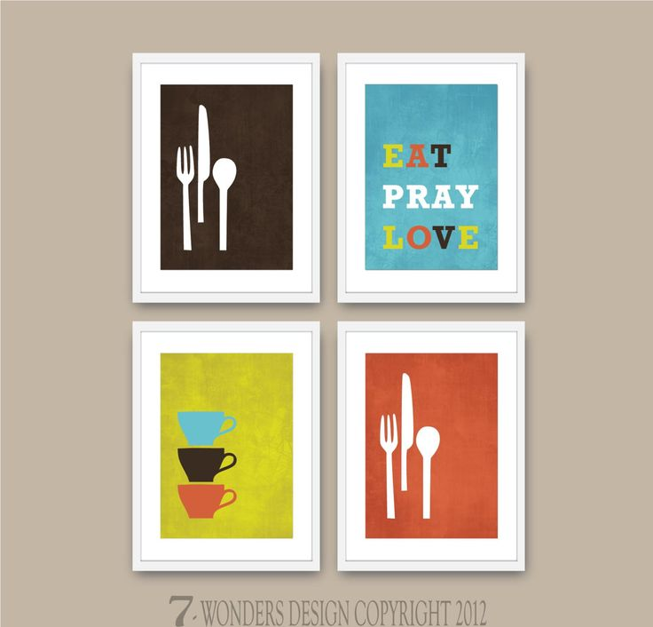 17 best images about kitchen wall art on pinterest for Kitchen cabinets lowes with wall print art