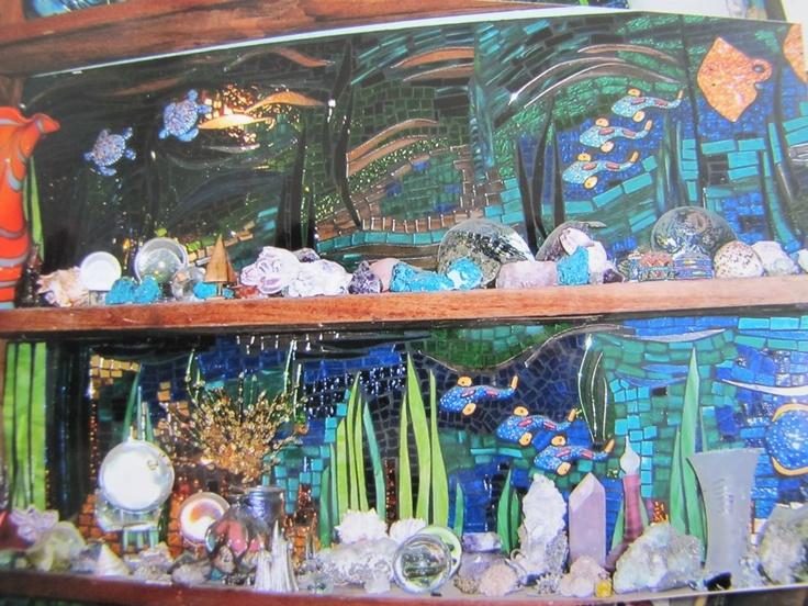 seascapes by kat gottke fantastische kunstmosaikpapierblumenmosaic animals - Fantastisch Mosaik Flie