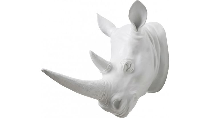Deco Rhino blanc Kare Design