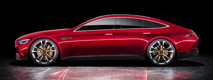 The Mercedes-AMG GT Concept Is An 805 HP Hybrid Reminder That No One Knows What 'Coupe' Means