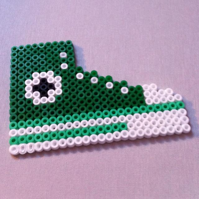 Converse Hama  Perler Beads
